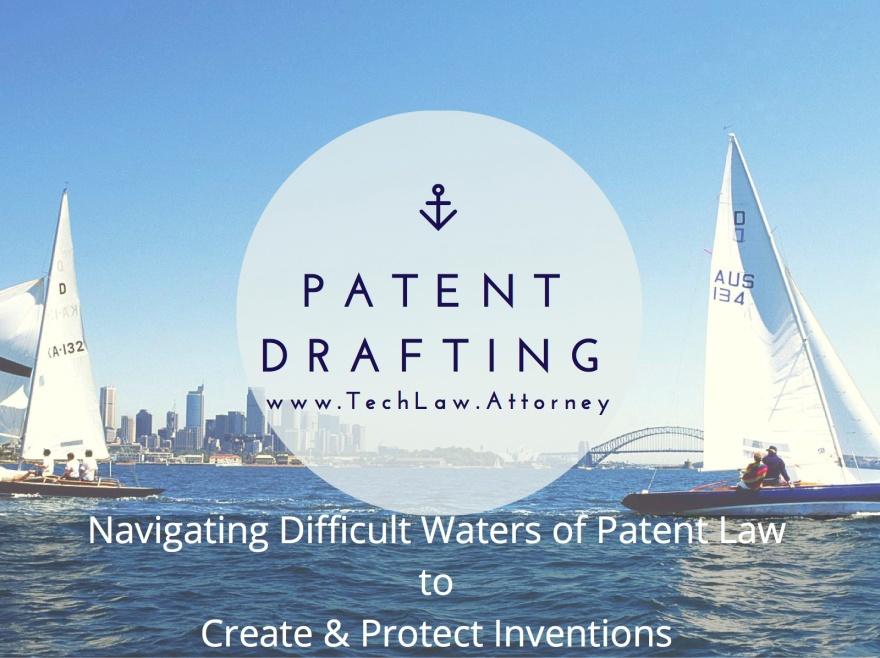 patent claim drafting application writing