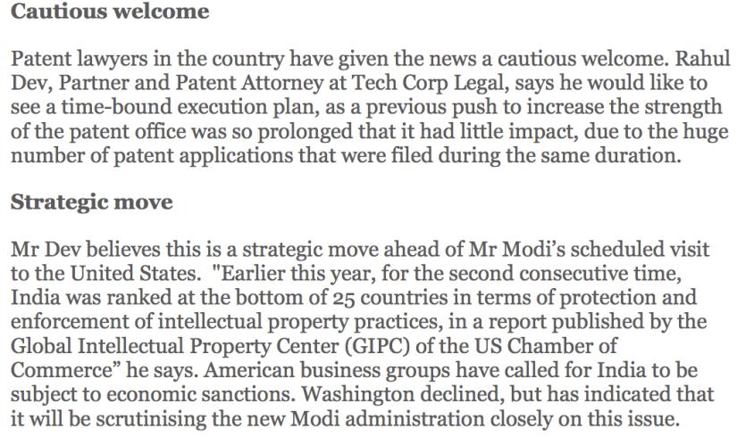 patent filing in india